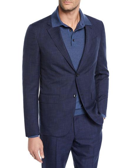 Ermenegildo Zegna Men's Two-Piece Striated Tic Suit