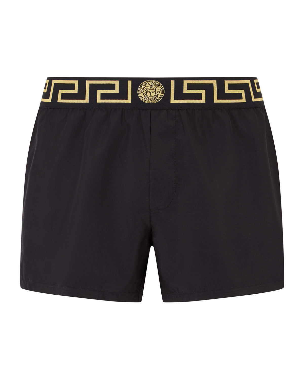 Versace Men's Net Short Swim Trunks | Neiman Marcus