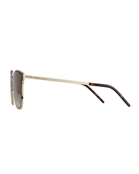 Saint Laurent Men's SL272 Metal Sunglasses - Gradient