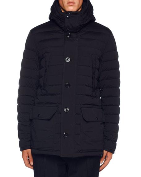 Men's Davis Puffer Jacket w/ Removable Hood