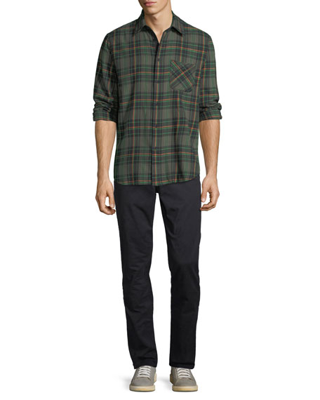 Image 3 of 3: Rag & Bone Men's Fit 2 Mid-Rise Slim-Fit Chino Pants