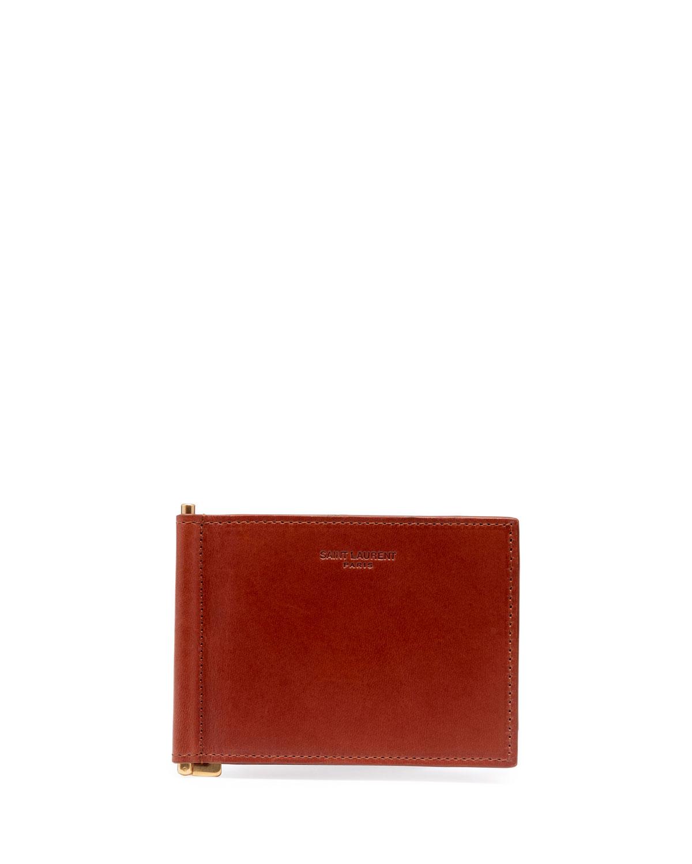 7287612c30b Saint Laurent Men's YSL Portadollari Wallet | Neiman Marcus