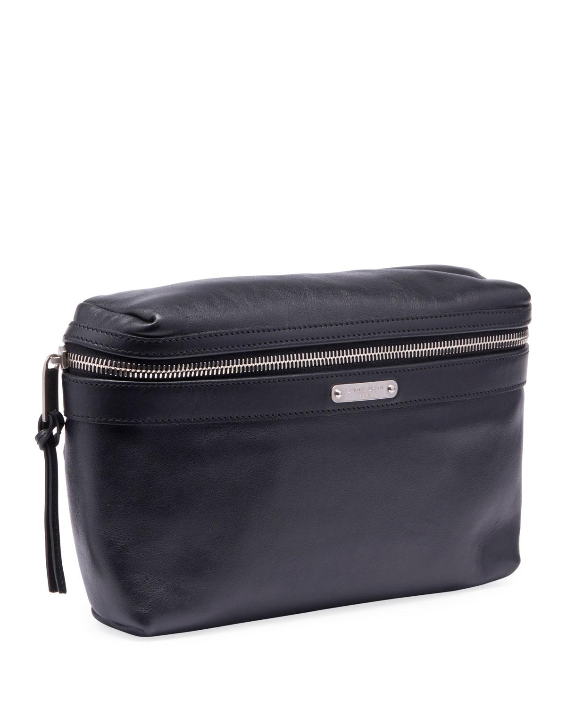 48db5262147 Saint Laurent Men's YSL Marsupio Leather Belt Bag | Neiman Marcus