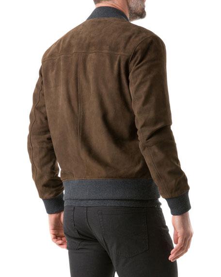 Rodd & Gunn Men's Carter's Mill Suede Jacket