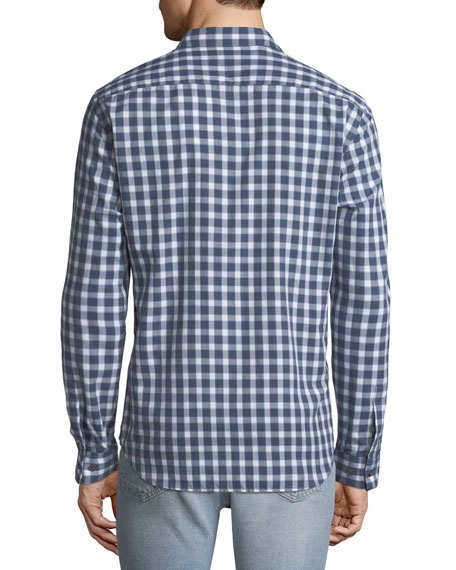 Theory Men's Irving Flannel Check Sport Shirt