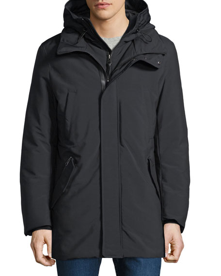 Mackage Men's Hooded Down Puffer Coat