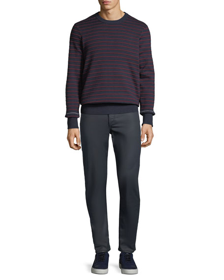 Rag & Bone Men's Standard Issue Fit 1 Slim-Skinny Jeans, Coated Blue
