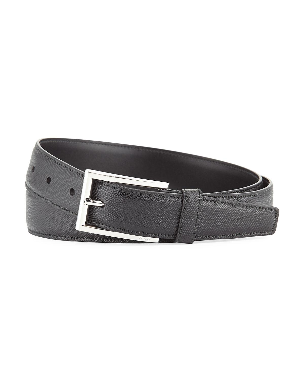 686a7010481e0 Prada Saffiano Leather Belt   Neiman Marcus