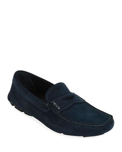Men's Suede Driver Shoes