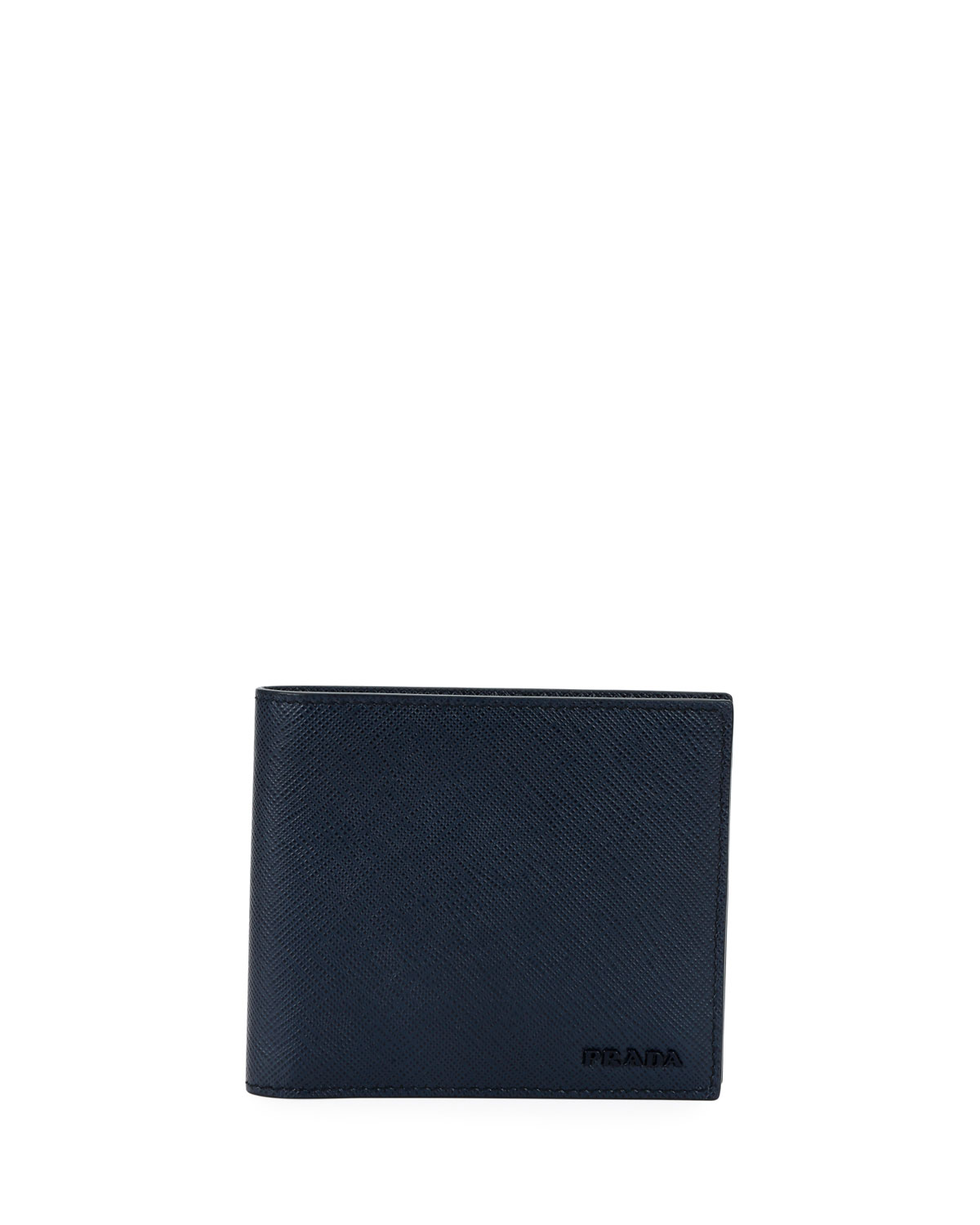 d5bd4a83b3 Men's Colorblock Saffiano Leather Double Billfold Wallet