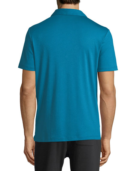 Image 2 of 2: Michael Kors Men's Sleek Jersey Polo Shirt
