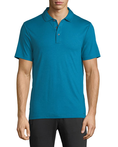 Men's Sleek Jersey Polo Shirt