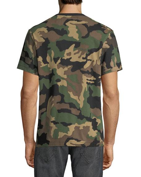 True Religion Men's Derringer Camo T-Logo Shirt