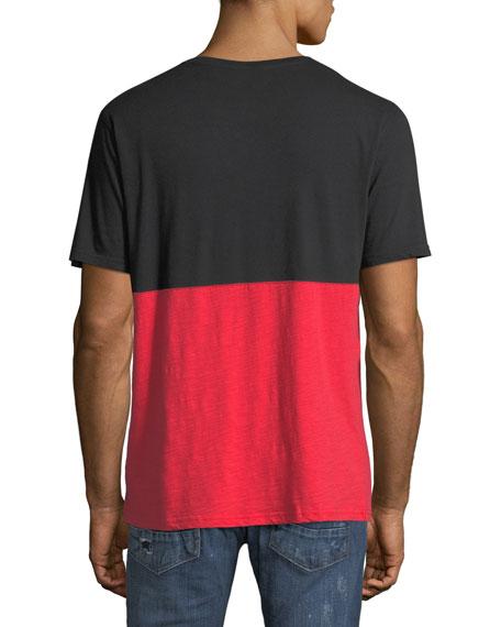 PRPS Men's Two-Tone Logo Graphic T-Shirt