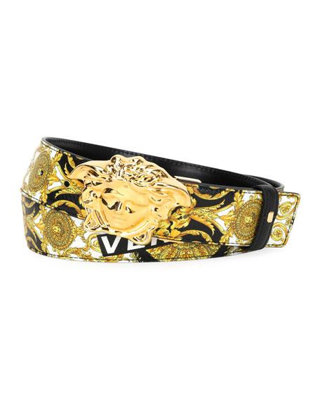 Versace Reversible Medusa-Buckle Belt