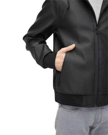 UGG Men's Diego Rubberized Zip-Front Hoodie