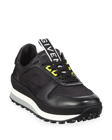 Givenchy Men's TR3 Leather Running Sneakers