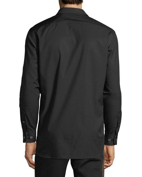 b6953879 Image 2 of 2: Burberry Men's William Signature Check-Facing Sport Shirt