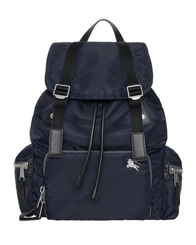 Men's Nylon Rucksack Backpack