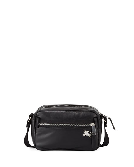 Burberry Men's Paddy Leather Belt Bag