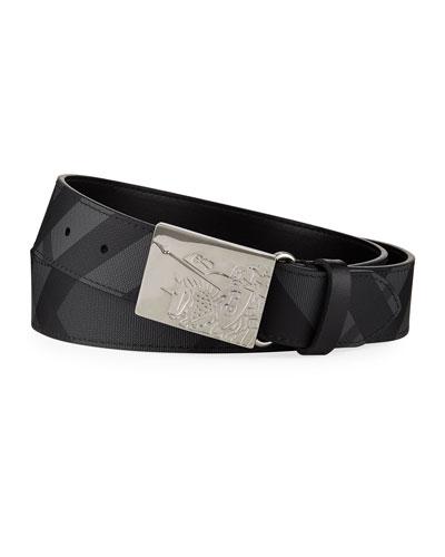 Men's Luke Signature Check Belt