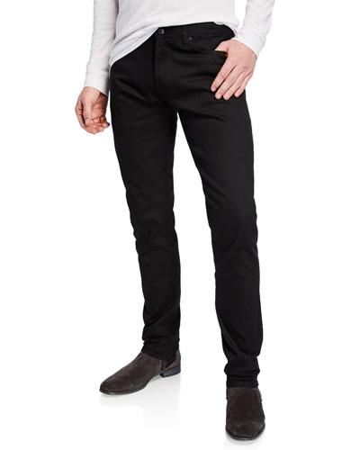 Men's Tapered Stretch-Denim Jeans