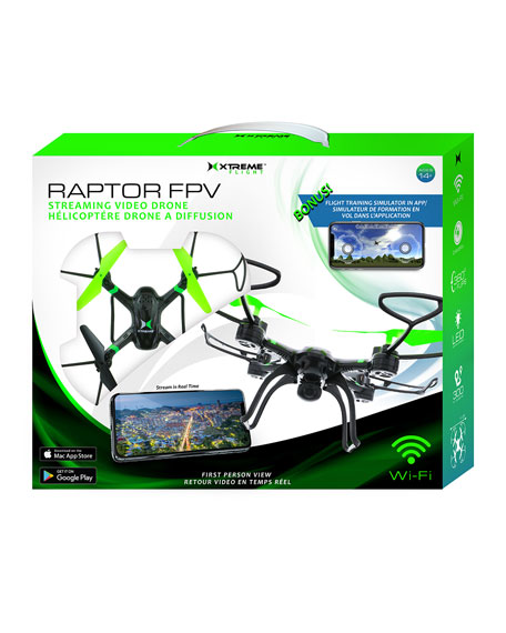 Xtreme Cables Raptor WiFi Streaming Camera Drone