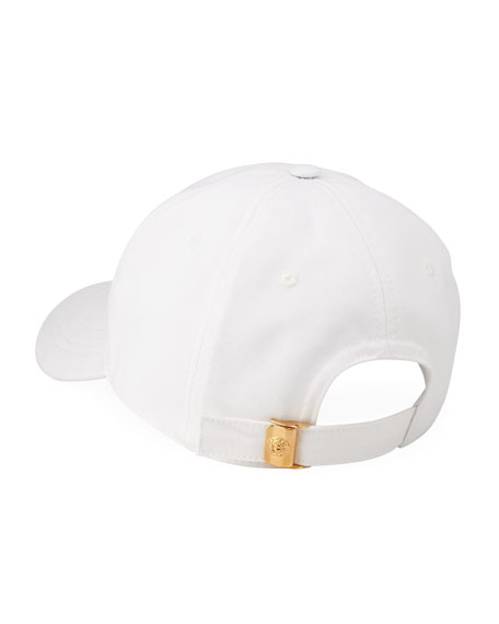 Versace Men's Logo Embroidery Baseball Hat