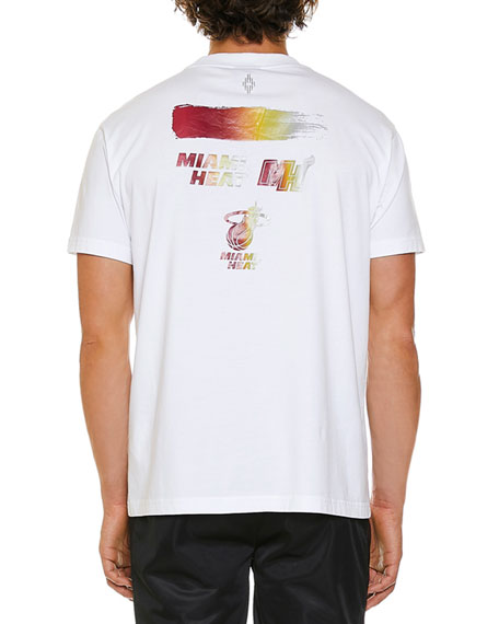 Marcelo Burlon Men's Miami Heat Graphic T-Shirt