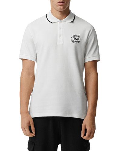 Men's Moreton Contrast-Tipping Polo Shirt