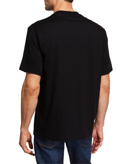 Burberry Men's Sabeto Logo Graphic T-Shirt