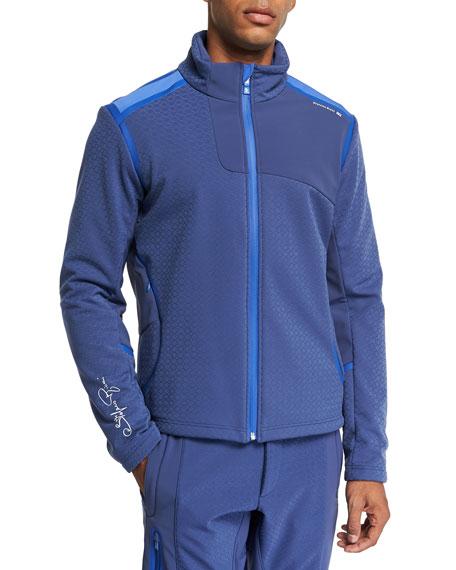 Stefano Ricci Men's Two-Tone Zip Jacket