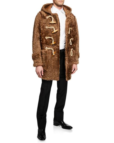 Burberry Men's Marylebone Wool-Mohair Trousers