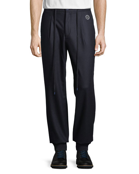 Stefano Ricci Men's Wool Sport Ski Trousers