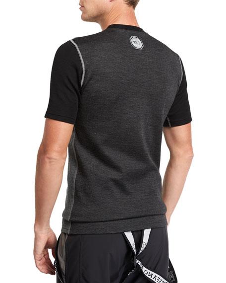 Stefano Ricci Men's Contrast-Panel T-Shirt