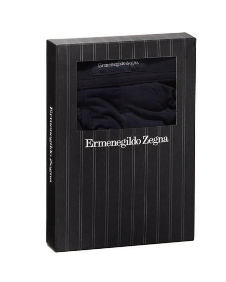 Ermenegildo Zegna Men's Micromodal Trunk Boxer Briefs