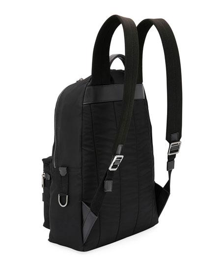 Dolce & Gabbana Men's Tonal Logo Backpack