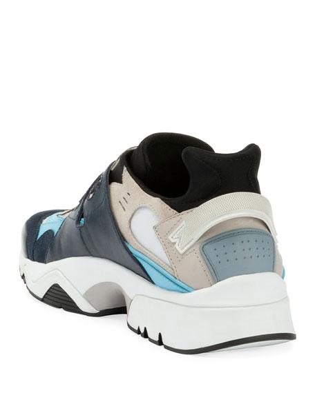 Kenzo Men's New Sonic Grip-Strap Sneakers