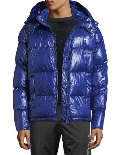Men's Cropped Puffer Jacket