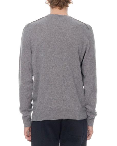 Berluti Men's Crewneck Knit Long-Sleeve T-Shirt