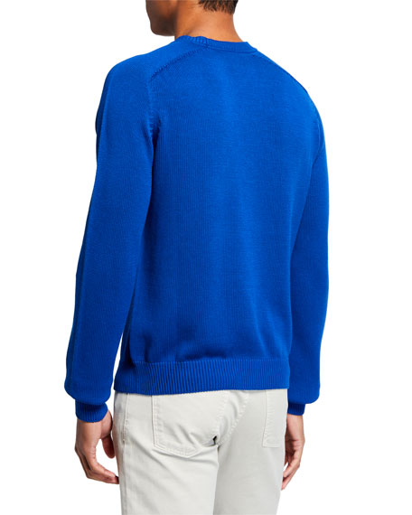 Berluti Men's Silk-Blend Crewneck Sweater