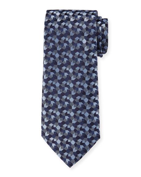 Giorgio Armani Men's Tonal Woven Jacquard Tie