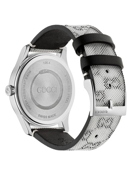 Gucci Men's GG Floating Dial Watch