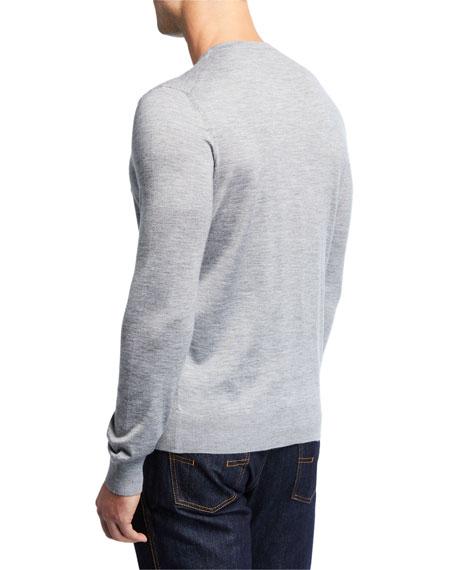 Ermenegildo Zegna Men's Cashmere/Silk Crewneck Sweater
