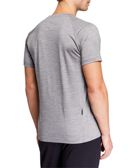 Z Zegna-Techmerino Men's French Short-Sleeve T-Shirt