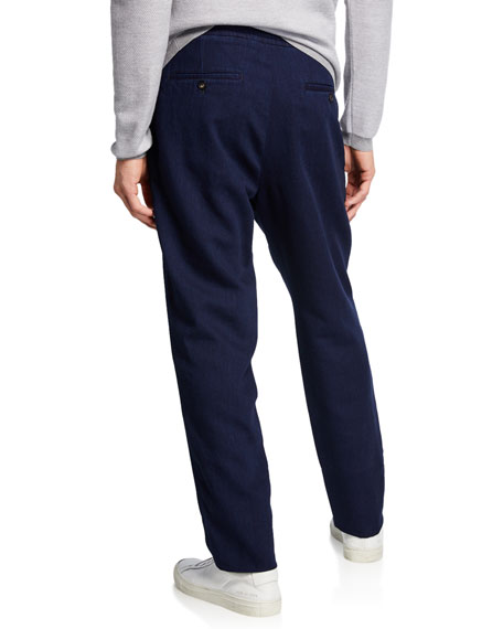Image 2 of 3: Ermenegildo Zegna Men's Chino Denim Pants