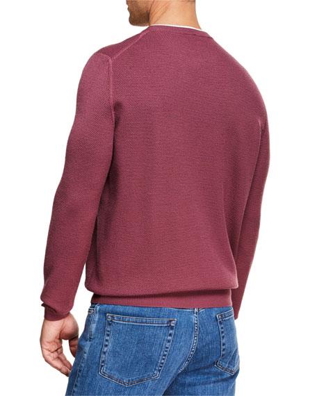 Ermenegildo Zegna Men's High-Performance Wool Sweater