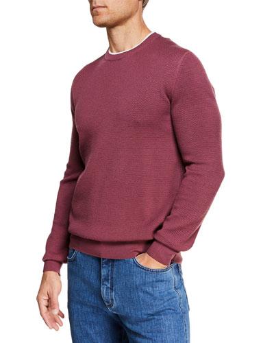 Men's High-Performance Wool Sweater
