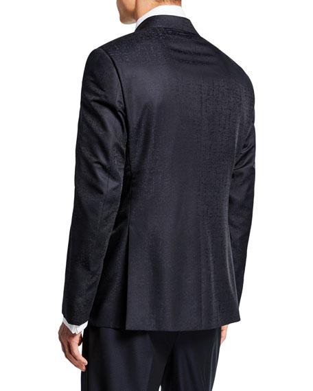 Giorgio Armani Men's Solid Watermark Dinner Jacket