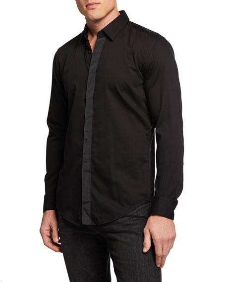 BOSS Men's Ronni Solid Slim Fit Cotton Dress